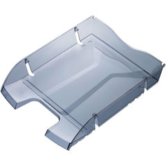View more details about Helit PET Recycled Letter Tray Grey H2363508