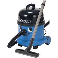 View more details about Numatic Charles Blue Wet and Dry Vacuum Cleaner - CVC370