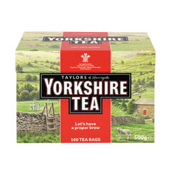 View more details about Yorkshire Tea Bags, Pack of 160 - 1029