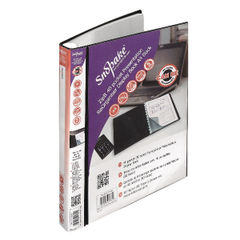 View more details about Snopake ZipIt Reorganiser Presentation Book 40 Pocket Black 15780