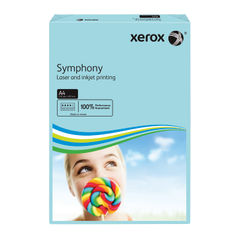 View more details about Xerox Symphony Mid Blue A4 Paper, 80gsm (Pack of 500) - 003R93968