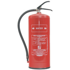 View more details about Fire Extinguisher Water 9 Litre (Certified to BS EN3, combats Class A fires) XWS9