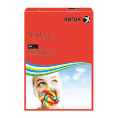 View more details about Xerox Symphony Dark Red A4 Paper, 80gsm (Pack of 500) - 003R93954