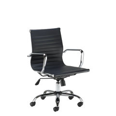 View more details about Jemini Sosa Black Executive Swivel Meeting Chair