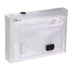 View more details about Snopake 60mm Document Box A4 Clear 12871
