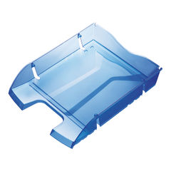 View more details about Helit PET Recycled Letter Tray Blue H2363530