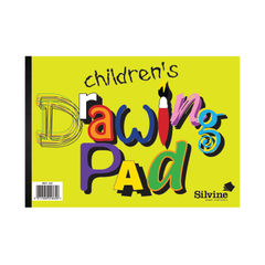 View more details about Silvine Children's Drawing Pad A4 (Pack of 12) 420