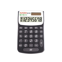 View more details about Aurora Recycled EC101 Pocket Calculator, 8 Digit Display - EC101