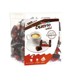 View more details about Kinder Bueno Mini Bars, Pack of 180 - 0401168