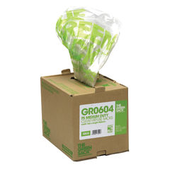 View more details about The Green Sack Clear Medium Duty Refuse Sacks, Pack 75 - GR0601