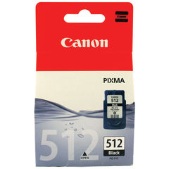 View more details about Canon PG-512 Black Ink Cartridge - High Capacity - 2969B001