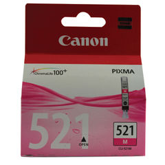 View more details about Canon CLI-521M Magenta Ink Cartridge - CLI-521 M