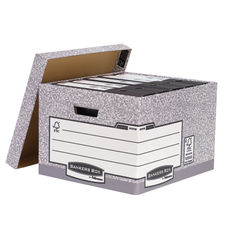 View more details about Fellowes R-Kive Large Bankers Box Storage Archive System, Pack of 10 - 01810