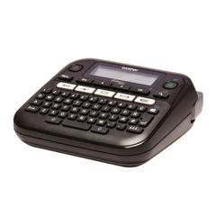 View more details about Brother P-Touch PT-D210VP Desktop Label Printer Black PTD210VP