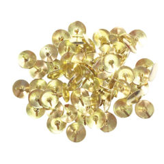 View more details about Brass Drawing Pins Brass 9.5mm (Pack of 1000) 34231