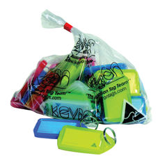 View more details about Kevron Plastic Clicktag Key Tag Large Assorted (Pack of 25) ID30AC25