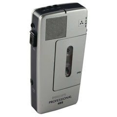 View more details about Philips Silver Pocket Memo Voice Activated Mini Cassette Recorder LFH0488