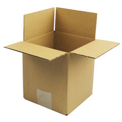 View more details about Single Wall 152x152x178mm Corrugated Cardboard Boxes, Pack of 25 - SC-02