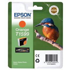 View more details about Epson T1599 Orange Inkjet Cartridge C13T15994010 / T1599