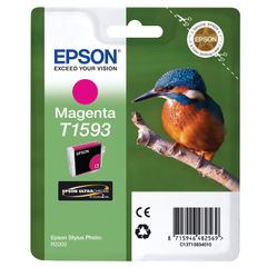 View more details about Epson T1593 Magenta Inkjet Cartridge C13T15934010 / T1593