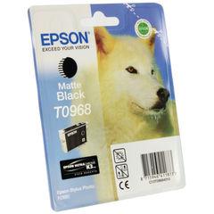View more details about Epson T0968 Matte Black Inkjet Cartridge C13T09684010 / T0968