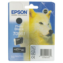 View more details about Epson T0961 Photo Black Ink Cartridge C13T09614010 / T0961