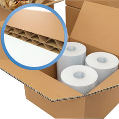 View more details about Double Wall 457x457x305mm Brown Corrugated Cardboard Boxes, Pack of 15 - 59189