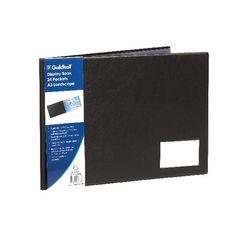 View more details about Goldline Black A3 Landscape 24 Pocket Display Book - GDB24/L
