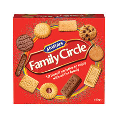 View more details about McVities 670g Family Circle Biscuit Selection - A08091