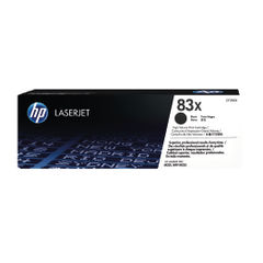 View more details about HP 83X High Capacity Black Toner Cartridge - CF283X