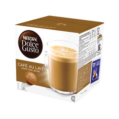 View more details about Nescafe Dolce Gusto Cafe au Lait Capsules, Pack of 48 - 12235939