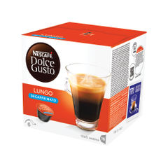 View more details about Nescafe Dolce Gusto Decaffeinated Lungo Capsules, Pack of 48 - 12219256