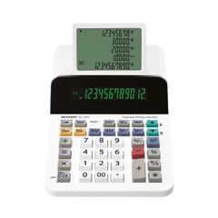 View more details about Sharp EL1501 Paperless Printing Calculator EL1501
