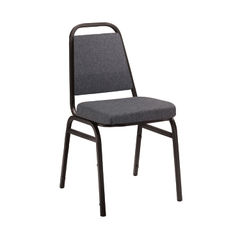 View more details about Arista Charcoal/Black Banqueting Chair