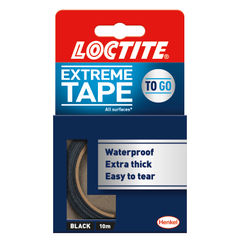 View more details about Loctite Extreme Tape 24mm x 10m Black 2505718
