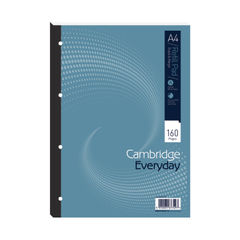 View more details about Cambridge Everyday Ruled Margin Refill Pad 160 Pages A4 (Pack of 5) 846200192