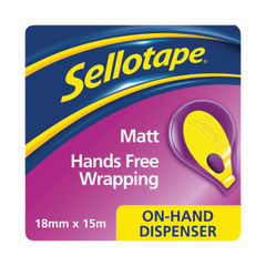 View more details about Sellotape On-Hand Dispenser with Tape 18mm x 15m 2379004