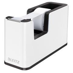 View more details about Leitz WOW Tape Dispenser Dual Colour White/Black 53641095