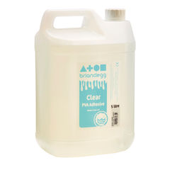 View more details about Brian Clegg 5 Litre Clear PVA Adhesive Glue – GL5000C