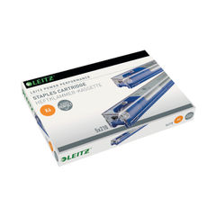 View more details about Leitz K6 Power Performance Staple Cartridge Blue (Pack of 5) 55910000