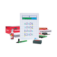 View more details about Show-Me Whiteboard A4 Gridded (Pack of 35) C/SQB