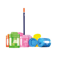 View more details about Swash Canister Pencil Sharpener Assorted (Pack of 12) SDPS112PP