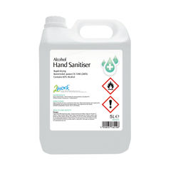 View more details about 2Work Hand Sanitiser 5 Litre - 222