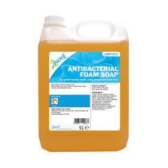 View more details about 2Work Antibacterial Foam Soap 5 Litre Bulk Bottle 2W01073