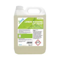 View more details about 2Work Washing Up Liquid Lemon Scent 5 Litre Bulk Bottle 2W76013