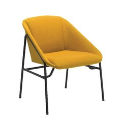 View more details about Jemini Bistro Mustard Reception Armchair