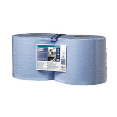 View more details about Tork 255m Blue 2-Ply Rolls, Pack of 2 - 130052