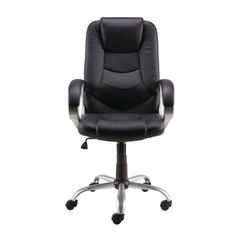 View more details about Darcy Black Bonded Leather/PVC Executive Office Chair - 27426