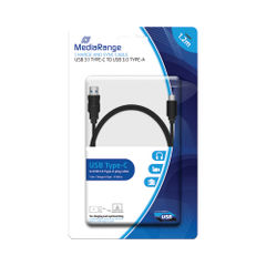 View more details about MediaRange Charge and Sync Cable USB 3.1 Type-C MRCS160