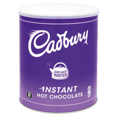 View more details about Cadbury 2kg Instant Hot Chocolate Tin - 612581